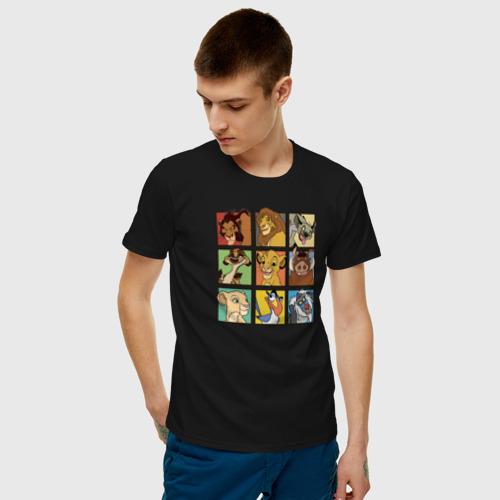 Мужская футболка хлопок The Lion King Characters Фото 01