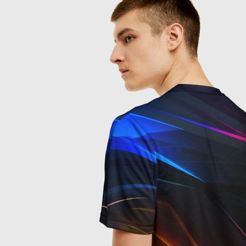 Мужская футболка 3D Horizon Zero Dawn STRIPES Фото 01