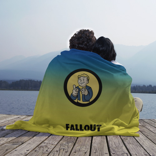 Плед 3D Fallout/Фоллаут Фото 01