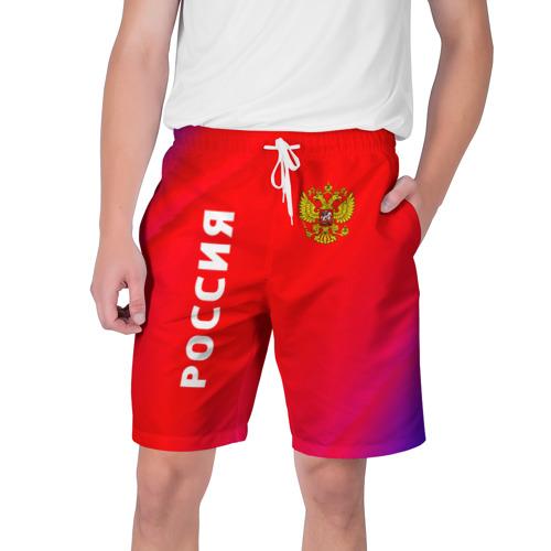 Мужские шорты 3D РОССИЯ / RUSSIA Фото 01