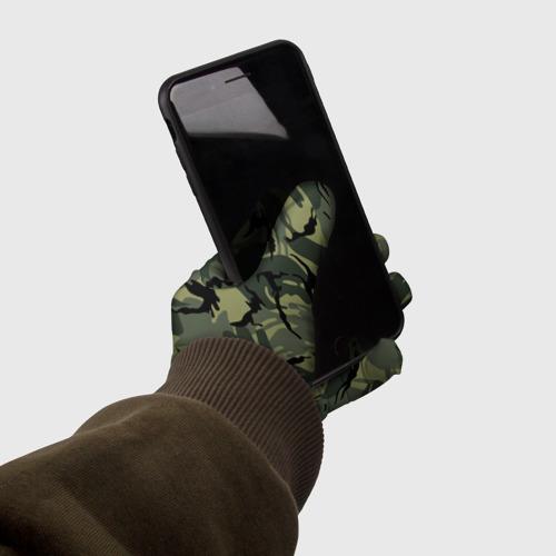 Перчатки 3D Камуфляж Фото 01
