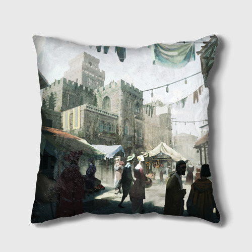 Подушка 3D Assassin's Creed 2 Фото 01