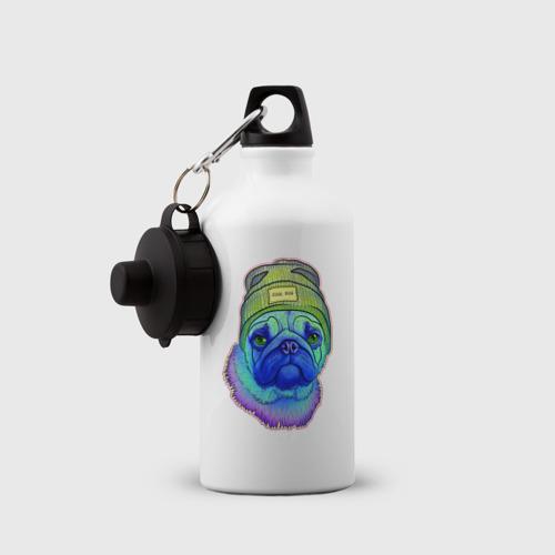 Бутылка спортивная Мопс Фото 01