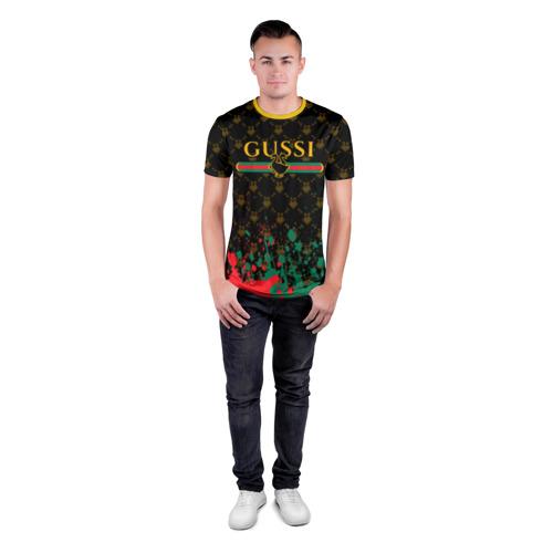 Мужская футболка 3D спортивная GUSSI / ГУСИ Фото 01