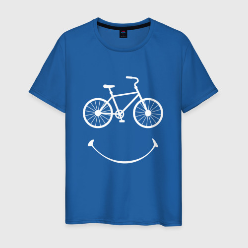 Мужская футболка хлопок Велоулыбка мужской Фото 01