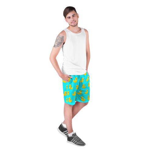 Мужские шорты 3D Уточки Фото 01