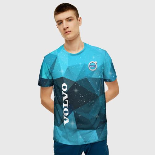 Мужская футболка 3D Volvo Фото 01