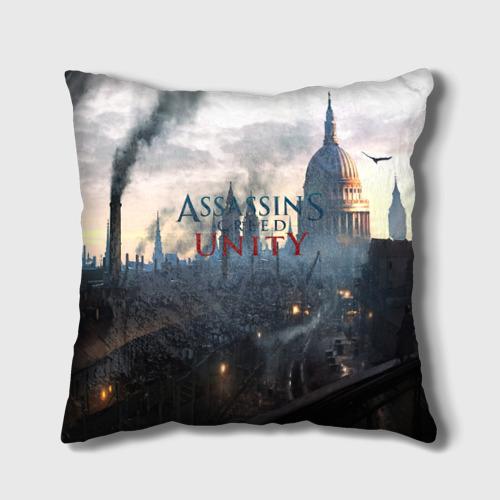 Подушка 3D Assassin's Creed Unity Фото 01