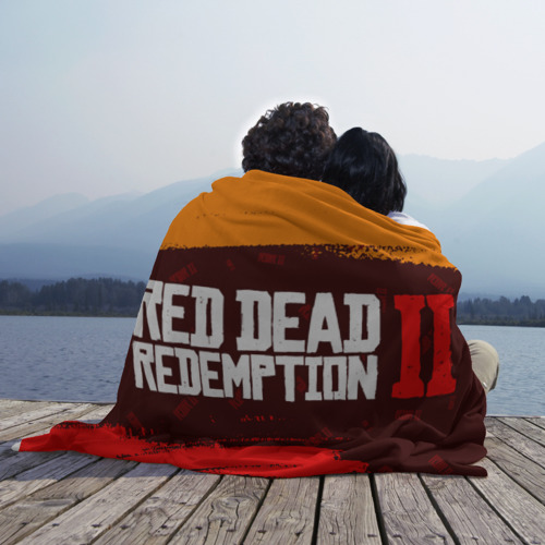 Плед 3D RED DEAD REDEMPTION 2 Фото 01