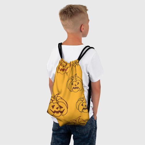 Рюкзак-мешок 3D Тыквы Фото 01