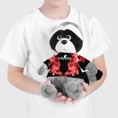 Игрушка Енотик в футболке 3D COUNTER STRIKE Фото 01
