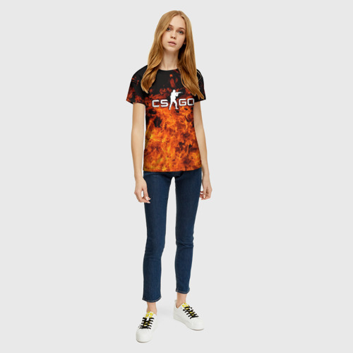Женская футболка 3D COUNTER STRIKE Фото 01