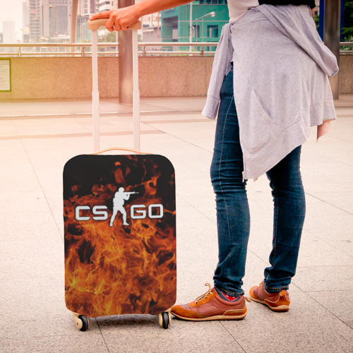 Чехол для чемодана 3D COUNTER STRIKE Фото 01
