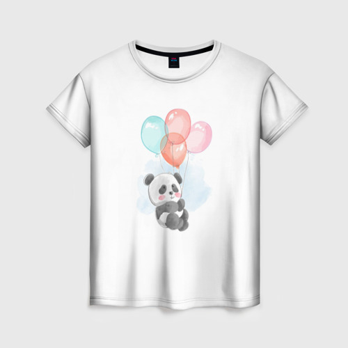 I`m Panda with balloons