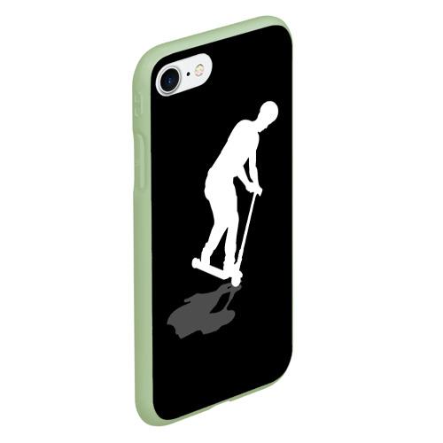 Чехол для iPhone 7/8 матовый Самокат трюковой MANUAL Фото 01