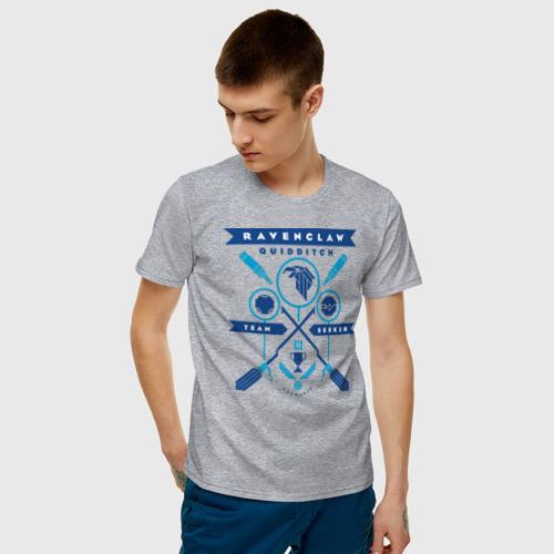 Мужская футболка хлопок Ravenclaw Quidditch Team Фото 01