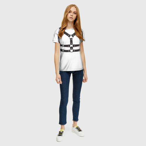 Женская футболка 3D Портупея Фото 01