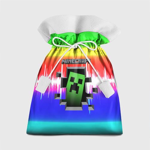 Подарочный 3D мешок Minecraft (S) Фото 01