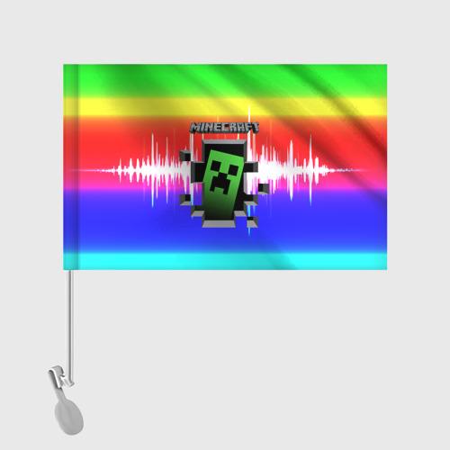 Флаг для автомобиля Minecraft (S) Фото 01
