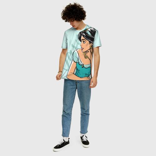 Мужская футболка 3D+ Жасмин Фото 01