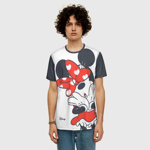 Мужская футболка 3D+ Minnie Mouse Фото 01