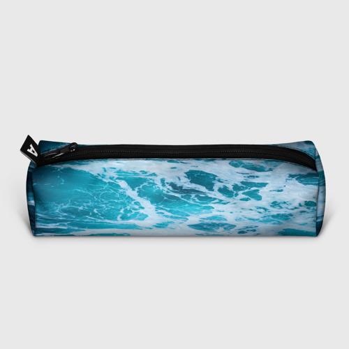Пенал школьный 3D Вода волны пена море Фото 01