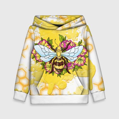 Детская толстовка 3D Пчела Фото 01