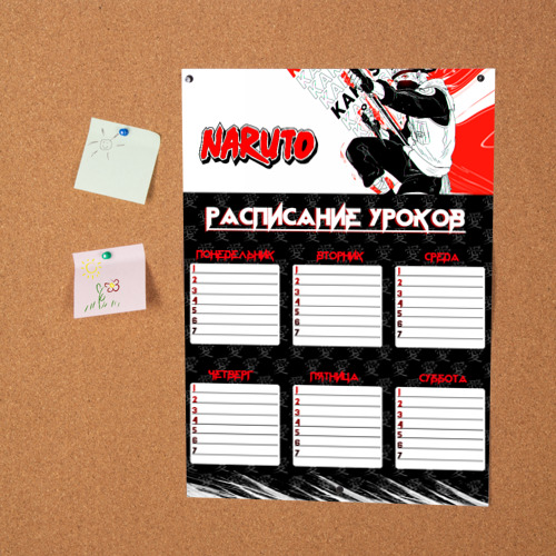 Постер Расписание Аниме Фото 01