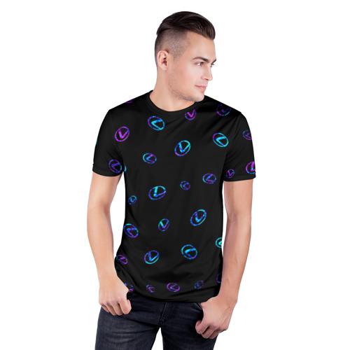 Мужская футболка 3D спортивная LEXUS / ЛЕКСУС Фото 01