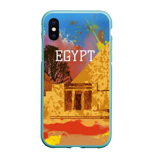 Египет(Пирамида Хеопса)