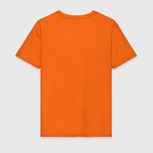 Мужская футболка хлопок Буквы, черные буквы Фото 01