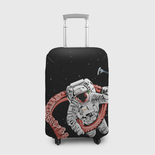 Чехол для чемодана 3D Космонавт. The last minutes of an astronaut's life Фото 01
