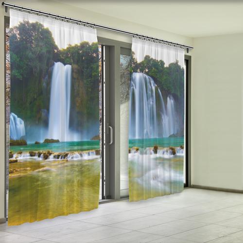 Фотошторы водопад Фото 01