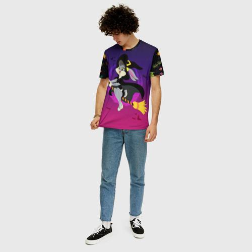 Мужская футболка 3D+ Лола Хэллоуин Фото 01