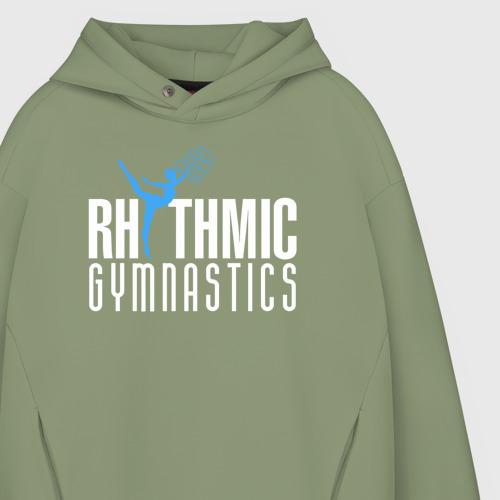 Мужское худи Oversize хлопок Rhythmic Gymnastics Фото 01