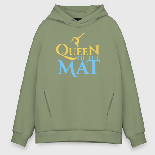 Мужское худи Oversize хлопок Queen of the Mat Фото 01