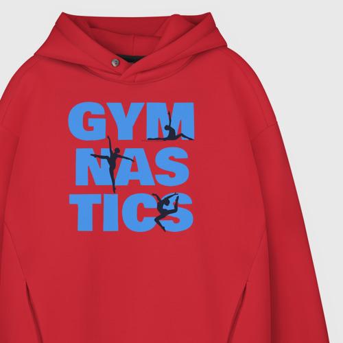 Мужское худи Oversize хлопок Gymnastics Фото 01