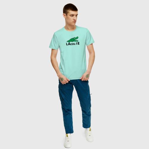 Мужская футболка хлопок Крокодил Фото 01