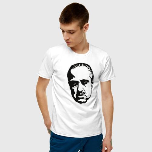 Мужская футболка хлопок godfather Фото 01