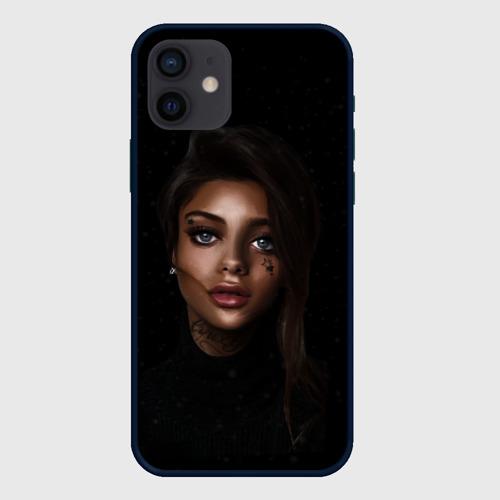 Чехол для iPhone 12 Pro Mini Girl DARK Фото 01