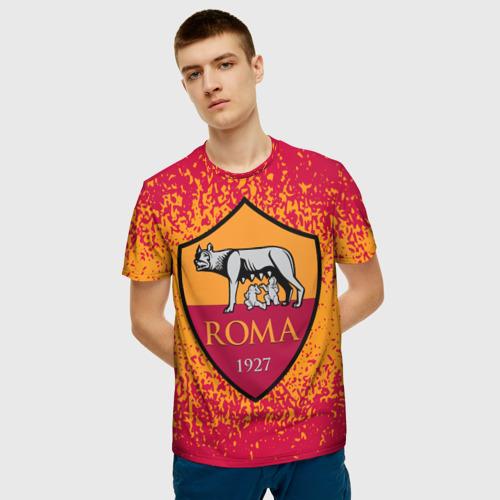 Мужская футболка 3D ROMA. Фото 01