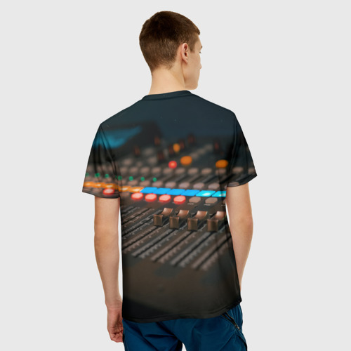 Мужская футболка 3D МУЗЫКА за  1090 рублей в интернет магазине Принт виды с разных сторон