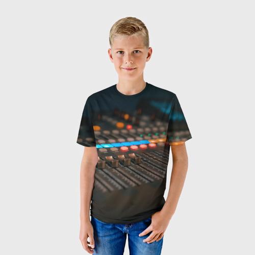 Детская футболка 3D МУЗЫКА за  1090 рублей в интернет магазине Принт виды с разных сторон