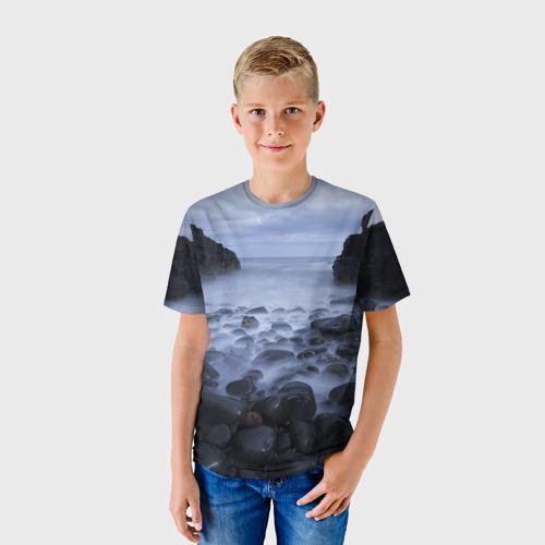 Детская футболка 3D Горные породы за  1090 рублей в интернет магазине Принт виды с разных сторон