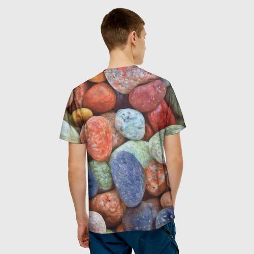 Мужская футболка 3D Камни за  1090 рублей в интернет магазине Принт виды с разных сторон