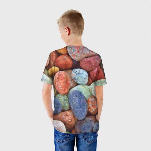 Детская футболка 3D Камни за  1090 рублей в интернет магазине Принт виды с разных сторон