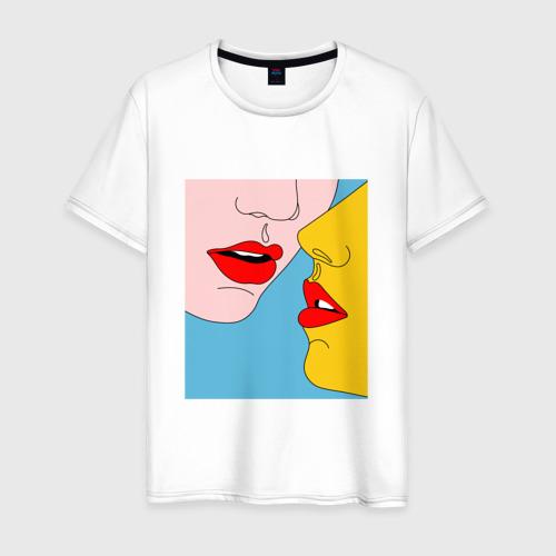 Мужская футболка хлопок Pop art 11-11 за  1190 рублей в интернет магазине Принт виды с разных сторон