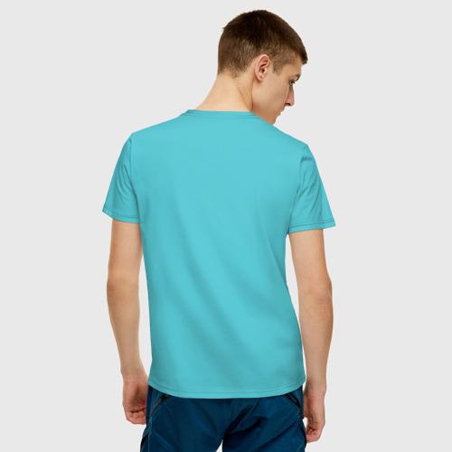 Мужская футболка хлопок Pop art 21-12 за  1190 рублей в интернет магазине Принт виды с разных сторон