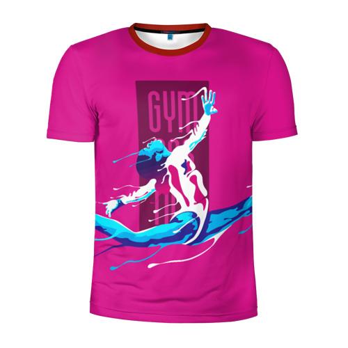 Мужская футболка 3D спортивная Gymnastics Фото 01