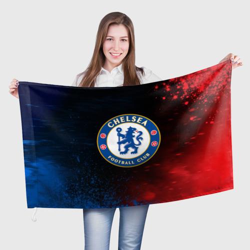 Флаг 3D CHELSEA F.C. / ЧЕЛСИ Фото 01